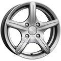 Колесные диски КИК Мирель 6x14 4*100 ET38 d67.1 дарк платинум - фото 1