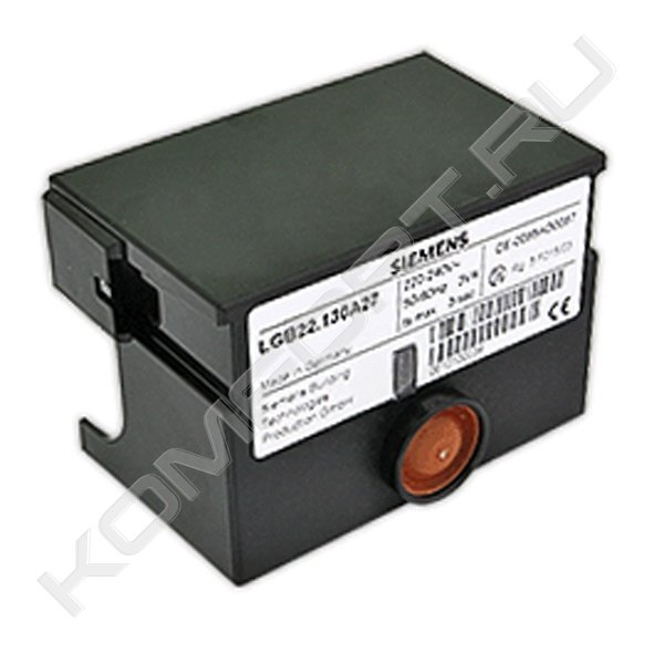 Автомат горения для газовых/жидкотопливных горелок малой мощности, Siemens LGB22.230B27