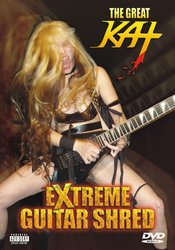 Great Kat, The - Extreme Guitar Shred. DVD, DVD-Video, NTSC
