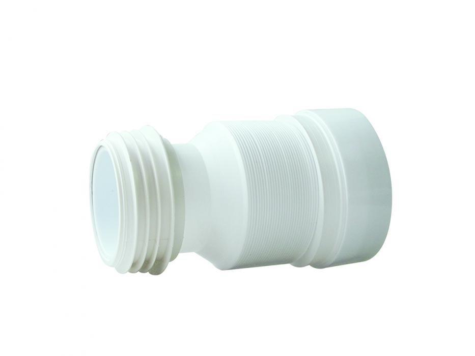 Труба для унитаза неармированная ф110 L90-430мм
