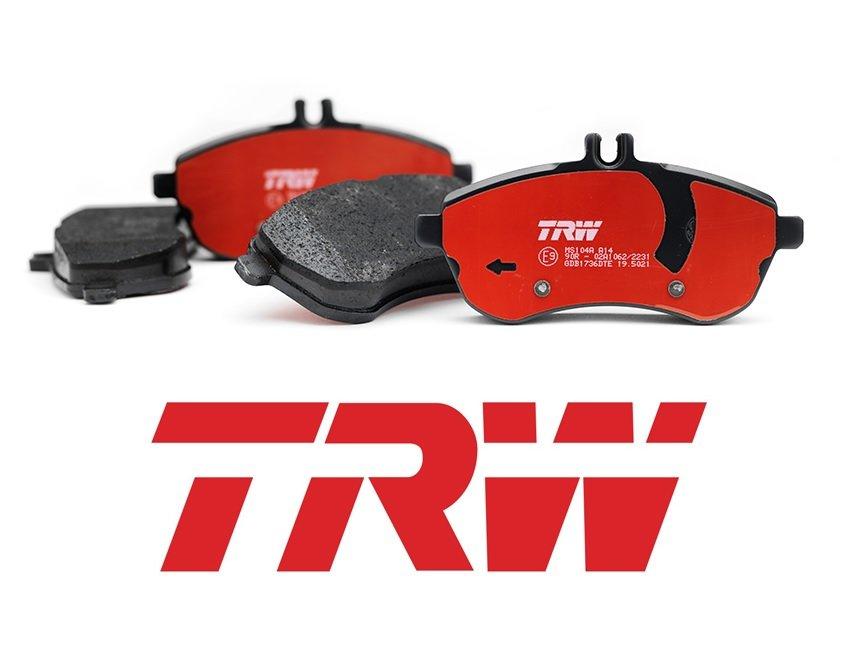 Задние тормозные колодки TRW GDB1330 (Ауди, Фольксваген, Шкода) дисковые ZIGDB1330