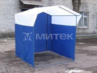 """Палатка торговая """"Домик"""" 2,5х1,9 (каркас из трубы 18 мм)"""