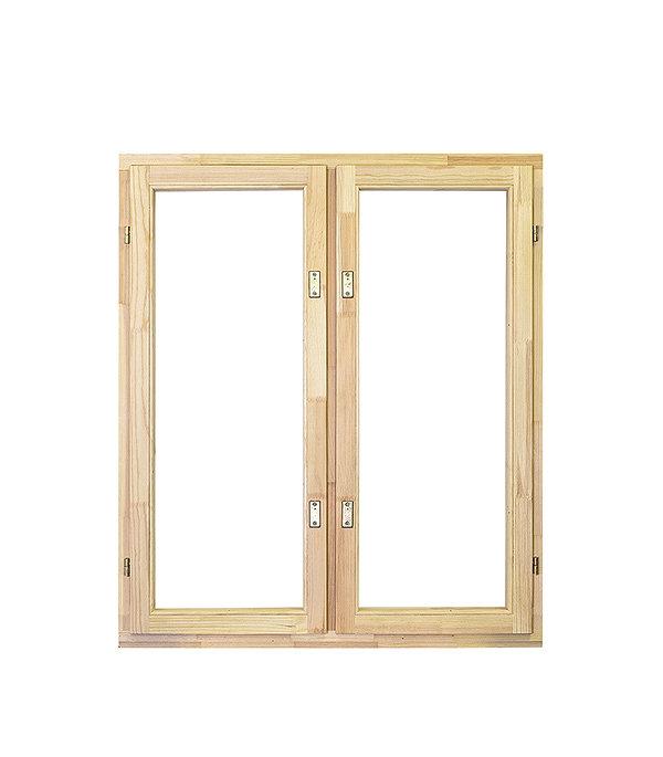 Окно деревянное РадДоз 1160х1000 мм 2 створки