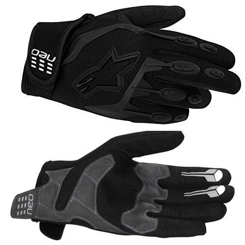 Перчатки для мотоциклиста Alpinestar 356505 Neo Moto Motocross Gloves Black Size L