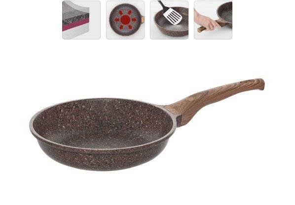 Сковорода NADOBA GRETA с антипригарным покрытием, 24 см