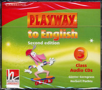 "Gunter Gerngross and Herbert Puchta ""Playway to English (Second Edition) 3 Class Audio CDs (Лицензия)"""