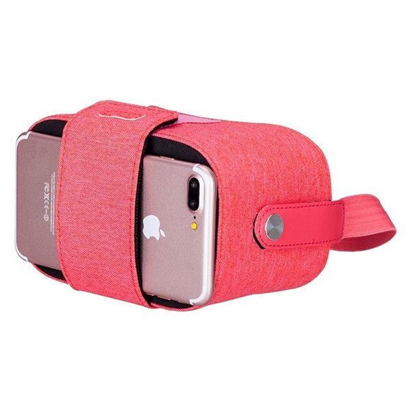 "Очки виртуальной реальности Momax Stylish VR Box Pink для смартфонов 4.7-5.7"" розовые"