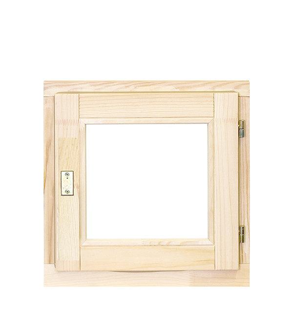 Окно деревянное РадДоз 460х470 мм 1 створка