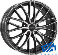 Диски OZ Racing Italia 150 8x18 5/120 ET29 d79 Matt Dark Graphit Diamond - фото 1