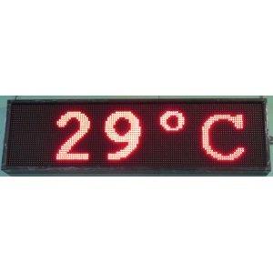 Информационное табло ПТК-Спорт ТИн2.6К-З(К-С) с двухцветной индикацией, светодиодных модулей 12 шт ПТК «Спорт» Информационное табло