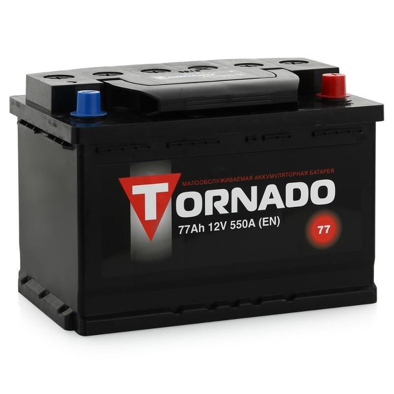 Аккумулятор TORNADO 6 СТ-77 АЗR о/п.