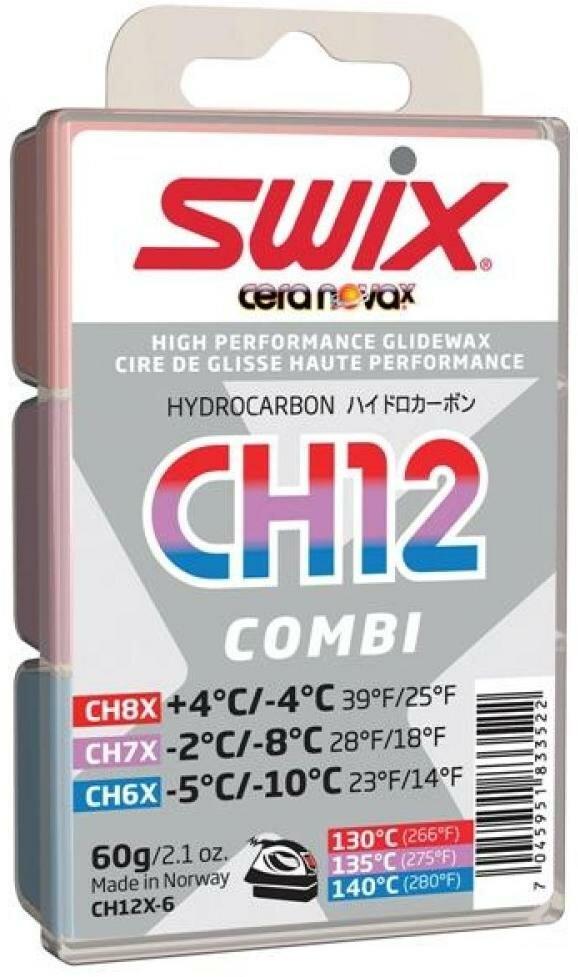 Мазь Скольжения Swix 2018-19 Combi По 20 Г: Ch7X, Ch8X, Ch10X 60 Гр (Б/р:one Size)