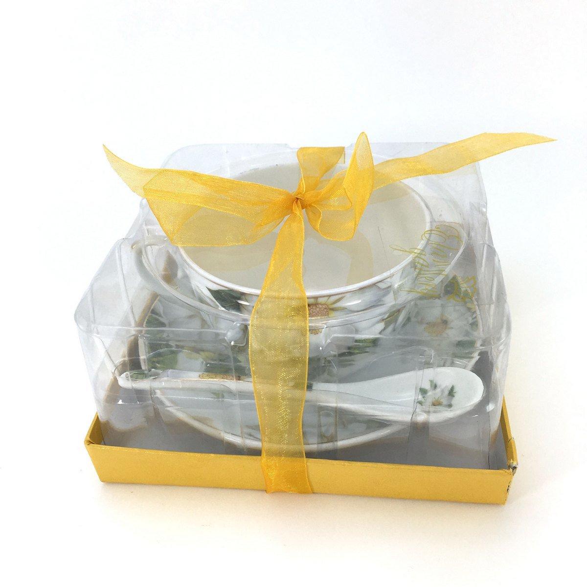 Пара чайная Шиповник 250мл фарфор