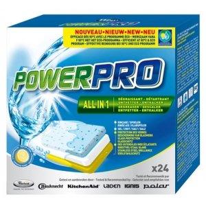 Средство для посудомоечных машин Whirlpool WPRO All in 1 24 таблетки