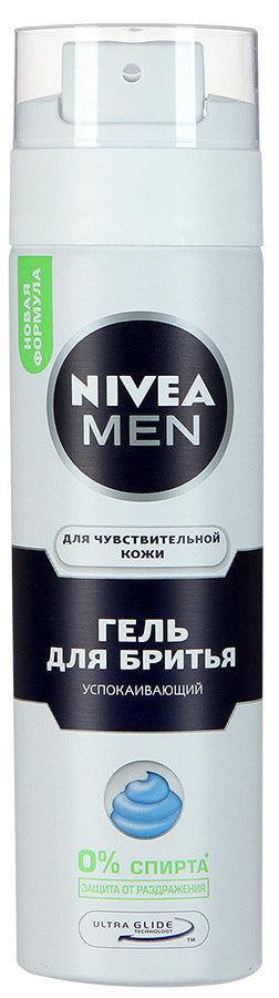 Гель для бритья Nivea Men для чувствительной кожи, 200мл