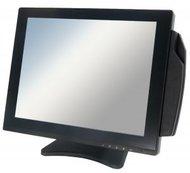 """POS-монитор Global POS 10"""" цветной сенсорный, TFT, металлическая подставка, USB, черный"""