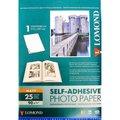 Фотобумага Lomond 2210003 A4/90г/м2/25л./белый матовое самоклей. для струйной печати