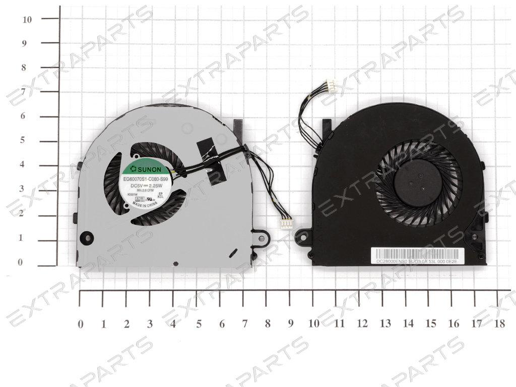 Вентилятор (кулер) для ноутбука LENOVO B50-70