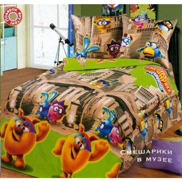 Комплект детского постельного белья (1,5 спальное) Арт-Постель 906 арт. Смешарики в музее