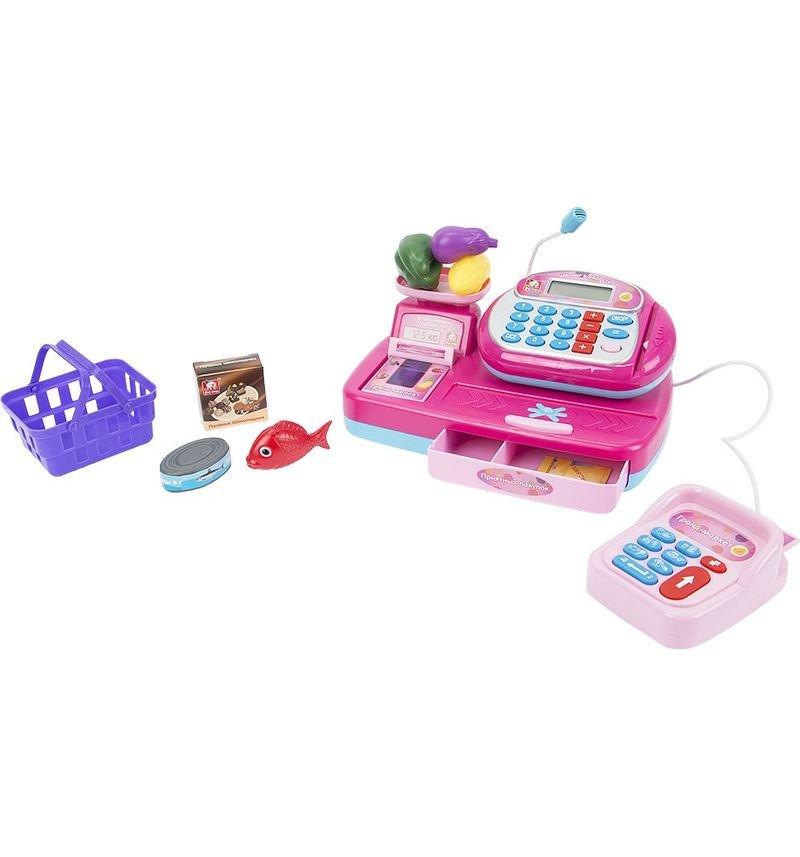 Игровой набор S+S Toys Касса в наборе с продуктами