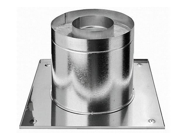 узел потолочно-проходной с утеплением, D200 мм