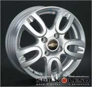 Колесный диск Replica GM44 5,5 \R14 4x100 ET39.0 D56.6 S - фото 1