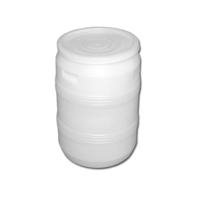 Бочка с крышкой, белая, 50 литров (БП 50)