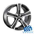 Диски OZ Racing Sahara5 8x17 5/114.3 ET40 d79 Matt Graphite Diamond Cut - фото 1