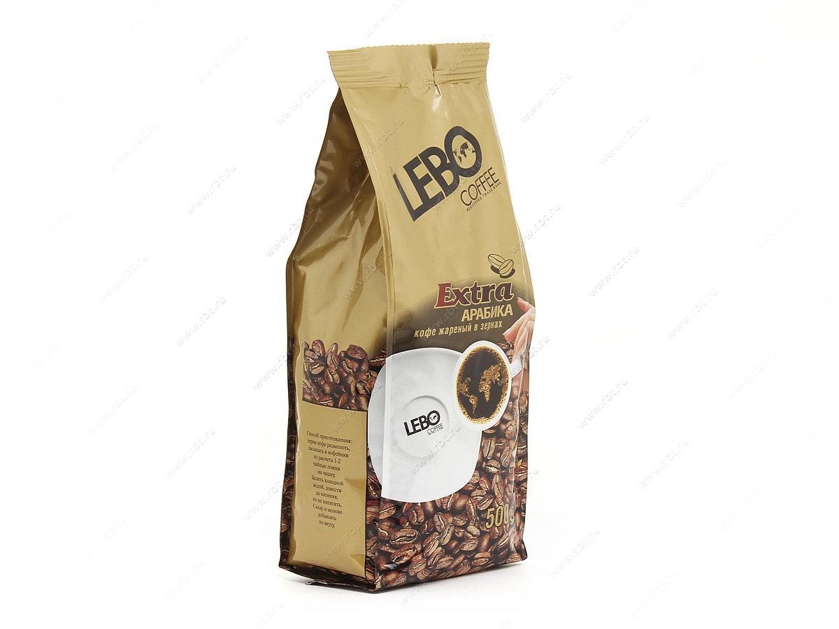 Кофе в зернах Lebo extra 500гр