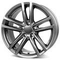 Колесные литые диски Alutec X10 Grey 8x18 5x120 ET30 D72.6 Серый тёмный (X10-80830W37-9) - фото 1