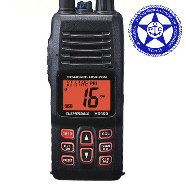 Радиостанции Standard Horizon HX400 IS