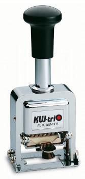 Нумератор автоматический KW-TRIO 20800, 8 разрядов, шрифт 3.7 мм, прямоугольный