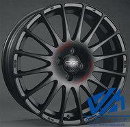Диски OZ Racing Superturismo GT 7.5x17 5/112 ET50 d75 Black+Red - фото 1