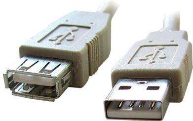 Кабели и разъемы Buro USB2.0-AM/AF-3