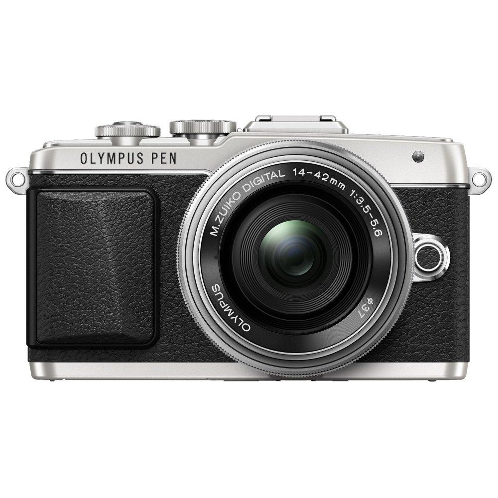 Цифровой фотоаппарат со сменной оптикой Olympus PEN E-PL7 Pancake Kit 14-42 EZ Silver
