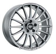 Диск OZ Racing Superturismo GT 8x17/5x120 ET40 D72.6 Racing Silver + Grey Letters - фото 1
