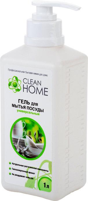 Средсва по уходу за кухней Clean home Cleanhome гель д/мытья посуды универс.1000 мл 409