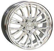 Racing Wheels H-392 7.5x17 5x114.3 ET 35 Dia 73.1 TI D/P - фото 1