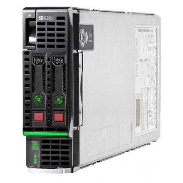 Сервер HP ProLiant BL460c Gen8 E5-2609v2/1xXeon4C 2.5GHz(10MB)/2x8GbRD(LV)/P220i(512Mb/RAID0/1)/noHD D(2)SFF/noDVD(not avail.)/iLO ME/2x10GbFlexLOM/1slotEncl, analog 666162-B21(724087-B21)