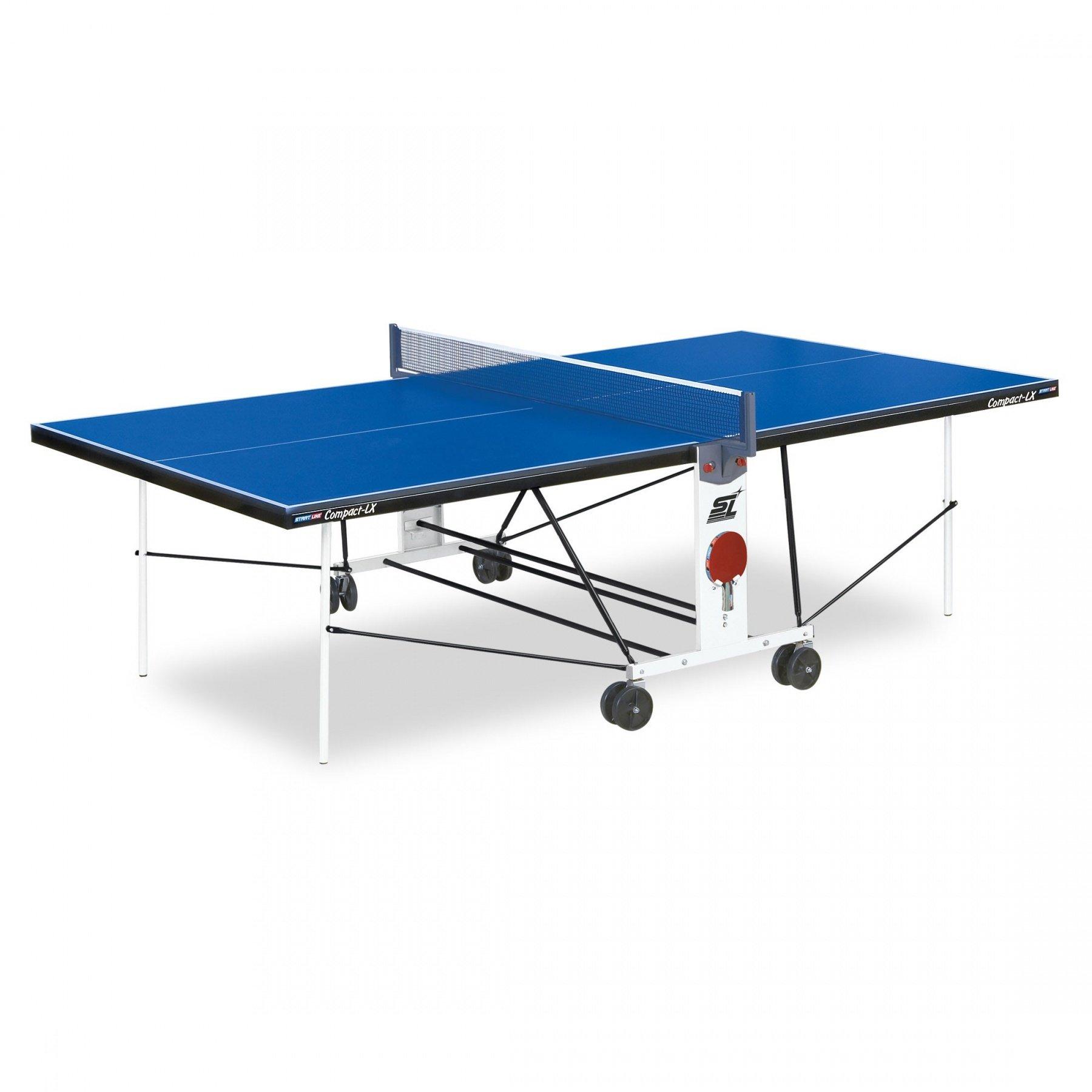 """Стол для настольного тенниса """"START LINE COMPACT LX"""" с сеткой"""