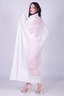 Шаль Оренбургский пуховый платок