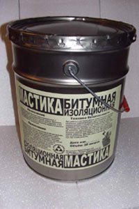 Битумная мастика Изоарт 15кг
