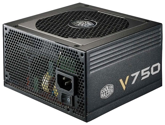 Блок питания cooler Master v750 modular 750w rs750-afbag1-eu atx