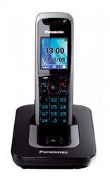 Радиотелефон Panasonic KX-TG8411RUT темно-серый металлик