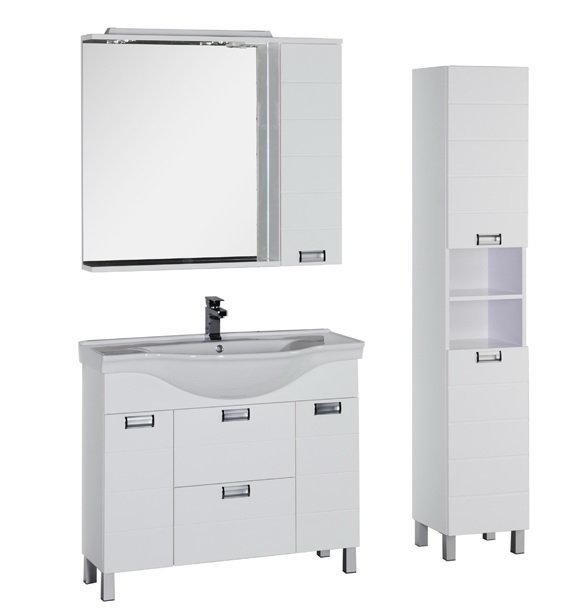 Мебель для ванной Aquanet Сити 100 (цвет белый)