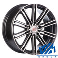 Диски 1000 Miglia MM1005 8.5x19 5/112 ET45 d66.6 Dark Anthracite Polished - фото 1