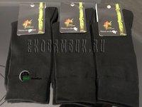 Носки из бамбука черные мужские 5 пар размер 41-43 (27)