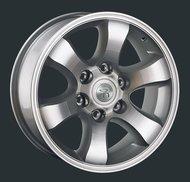 Диски Replay Replica Toyota TY2 7.5x17 6x139,7 ET30 ЦО106.1 цвет SF - фото 1