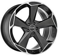 Колесные литые диски Oz Racing ASPEN HLT 9x20 5x108 ET43 D63.4 Чёрный матовый с полированной лицевой частью (W01A0200254) - фото 1