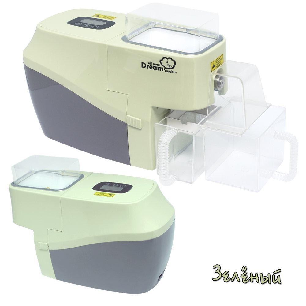 Бытовой электрический маслопресс RAWMID Dream modern ODM-01 (цвет зелёный)